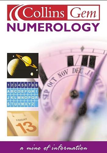 9780007123063: Numerology (Collins GEM)