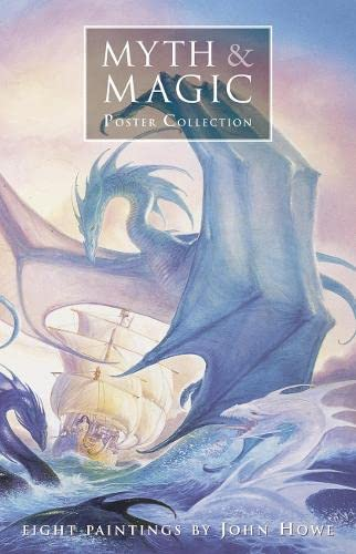 9780007123322: Myth & Magic Poster Collection: Eight Paintings by John Howe