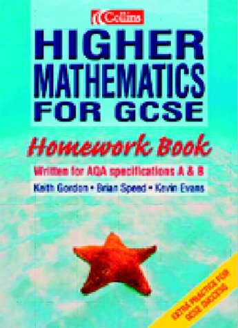 9780007123643: Higher Mathematics for GCSE: Homework Book: Homework Book for 2r.e.