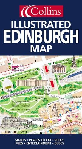 9780007123964: Illustrated Edinburgh Map