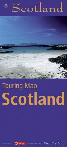 9780007123971: STB Touring Map Scotland