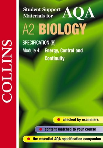 9780007124169: Collins Student Support Materials: AQA (B) Biology - Energy, Control and Continuity (Collins Student Support Materials)