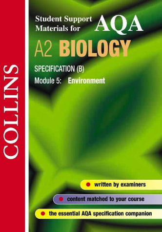 9780007124176: Collins Student Support Materials - AQA (B) Biology: Environment