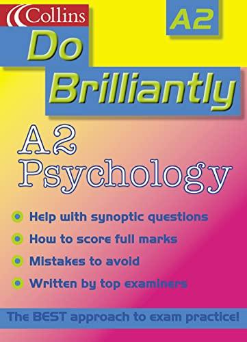 9780007124206: Do Brilliantly At - A2 Psychology