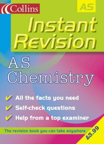 9780007124251: AS Chemistry (Instant Revision)