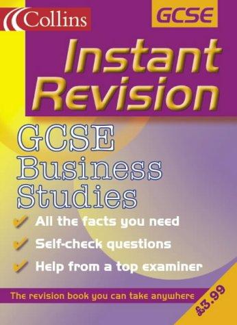 9780007124282: GCSE Business Studies (Instant Revision)