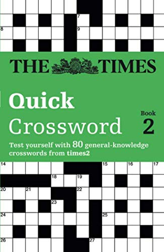 9780007126156: Times Quick Crossword Book 2: 80 General Knowledge Puzzles from The Times 2: Bk.2