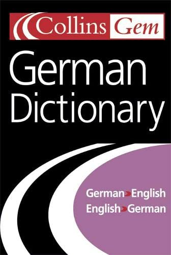 9780007126231: Collins Gem German Dictionary, 7e