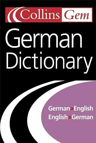 9780007126231: Collins Gem German Dictionary, 7e