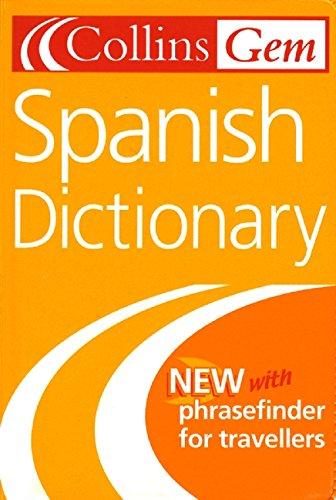 9780007126255: Collins Gem Spanish Dictionary (Collins Gems)