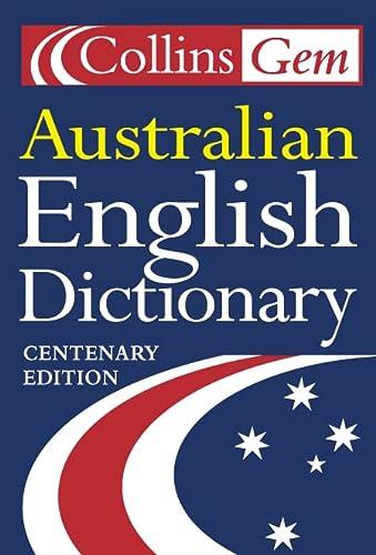 9780007126316: Australian Dictionary (Collins Gem)