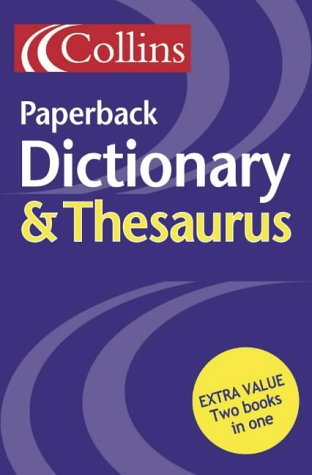 9780007126439: Collins Paperback Dictionary and Thesaurus