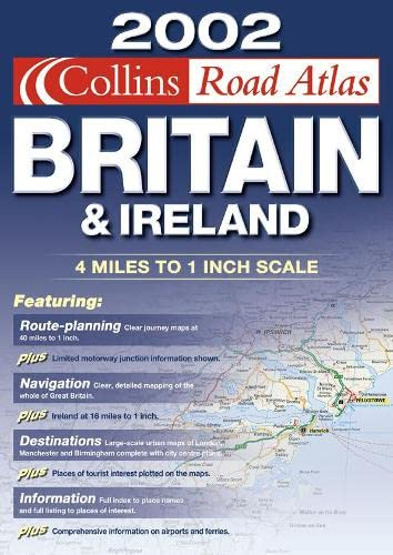 9780007126569: Road Atlas Britain and Ireland
