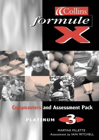 9780007126781: Formule X: Copymasters and Assessment Pack Level 3