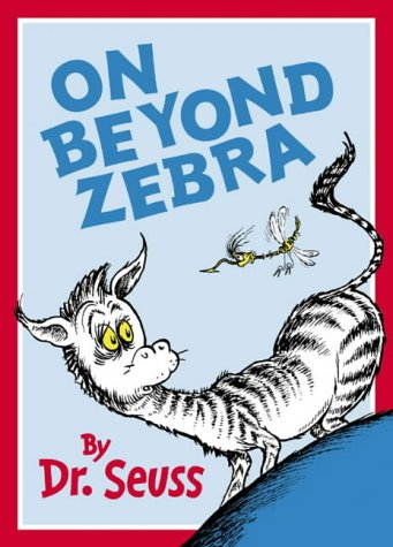 9780007127412: On Beyond Zebra (Dr Seuss)