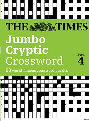 9780007127511: The Times Jumbo Cryptic Crossword : Book 4