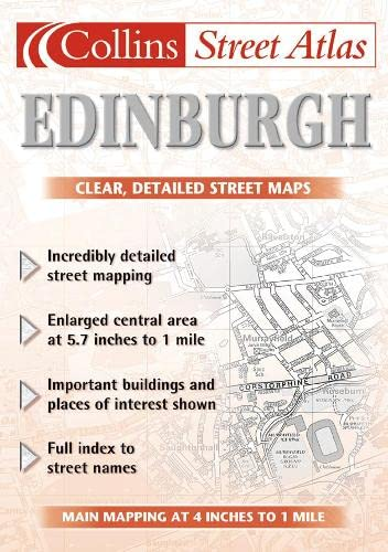 9780007127795: Edinburgh Street Atlas