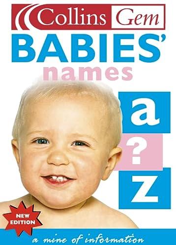 9780007127856: Babies' Names (Collins Gem)