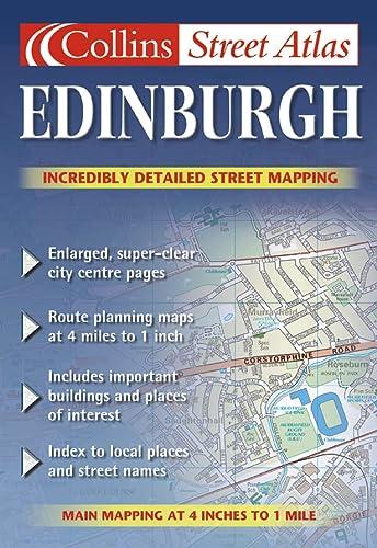 9780007128044: Edinburgh Colour Street Atlas (Collins street atlas)