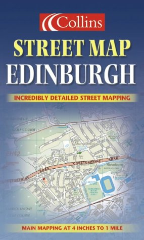 9780007128051: Edinburgh Colour Street Map