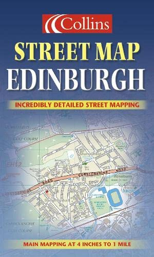 9780007128051: Edinburgh Colour Street Map