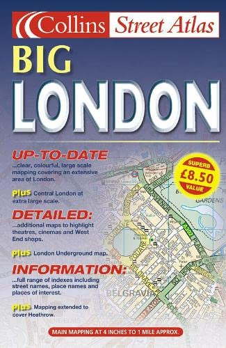 9780007128129: Collins London Street Atlas
