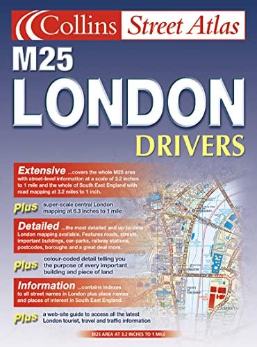 9780007128617: M25 London Drivers Atlas (Collins street atlas)