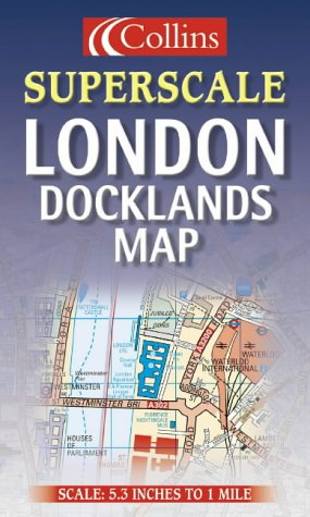 9780007128624: Superscale London Docklands Map