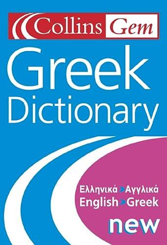 9780007128815: Greek Dictionary (Collins Gem)