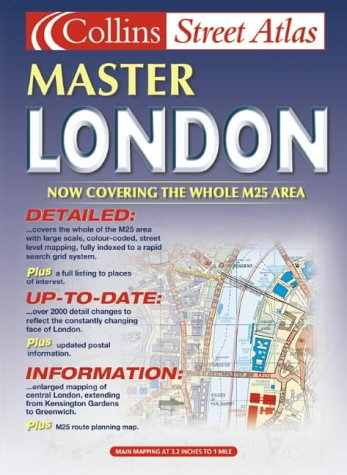9780007129638: M25 London Master Street Atlas (Collins street atlas)
