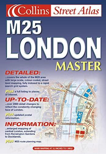 9780007129638: London Master Street Atlas (Collins street atlas)