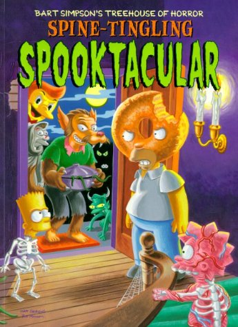 9780007130924: Spine-tingling Spooktacular (Bart Simpson's Treehouse of Horror)