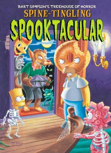 9780007130924: Bart Simpson's Treehouse of Horror Spine-Tingling Spooktacular