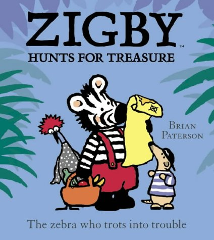 9780007131655: Zigby Hunts for Treasure (Ziggy & friends)