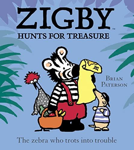 9780007131655: Zigby Hunts for Treasure (Ziggy & friends)