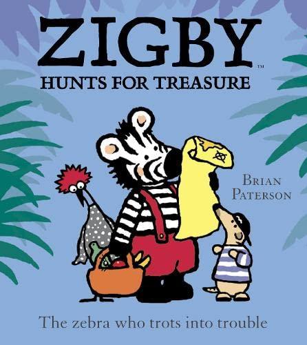 9780007131815: Zigby Hunts for Treasure (Zigby & Friends)