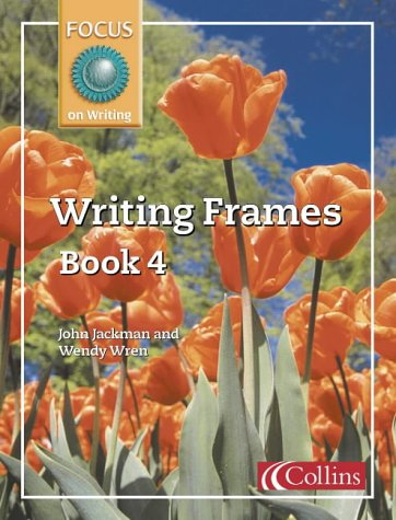 9780007132034: Focus on Writing: Writing Frames No.4