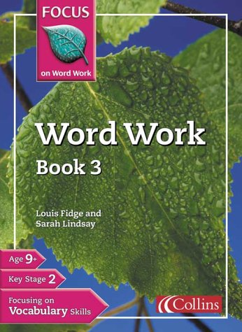 9780007132201: Focus on Word Work - Word Work Teacher's Guide 1: Teacher's Guide Bk. 1