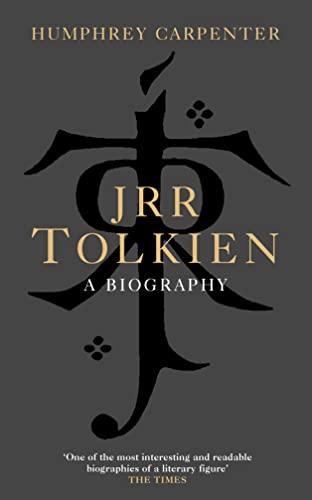9780007132843: J. R. R. Tolkien: A Biography