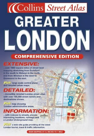 9780007133451: Greater London Street Atlas (Collins street atlas)