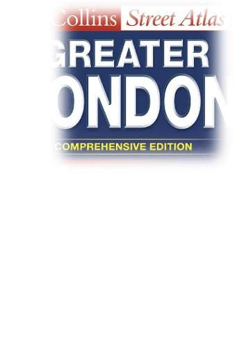 9780007133468: Greater London Street Atlas (Collins street atlas)