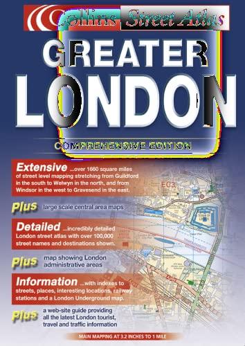 9780007133468: Greater London Street Atlas (Collins street atlas)