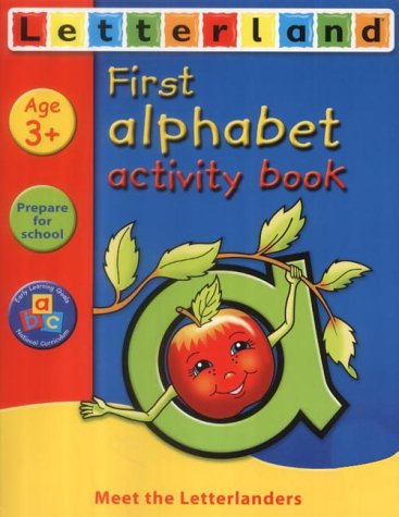 9780007134854: Letterland Learning At Home - First Alphabet Activity Book (Letterland Activity Books)