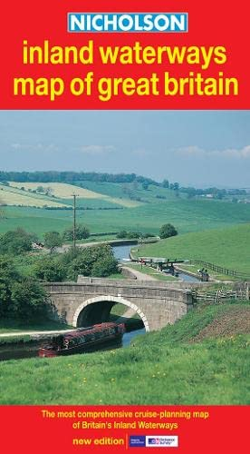 9780007136728: Nicholson Inland Waterways Map of Great Britain: The Most Comprehensive Cruise-Planning Map of Britain's Inland Waterways (Waterways Guides)