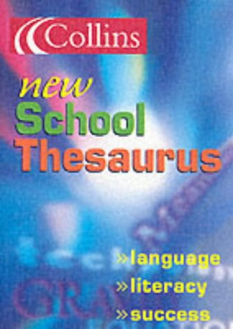 9780007137916: Collins School - Collins New School Thesaurus