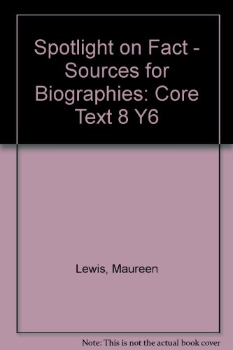 9780007138388: Spotlight on Fact: Core Text 8 Y6