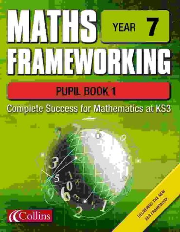 9780007138555: Maths Frameworking - Year 7 Pupil Book 1