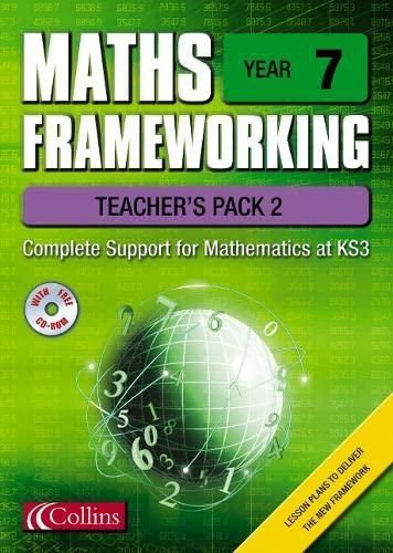 9780007138630: Maths Frameworking - Year 7 Teacher's Pack 2