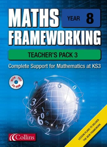 9780007138654: Maths Frameworking - Year 8 Teacher's Pack 3