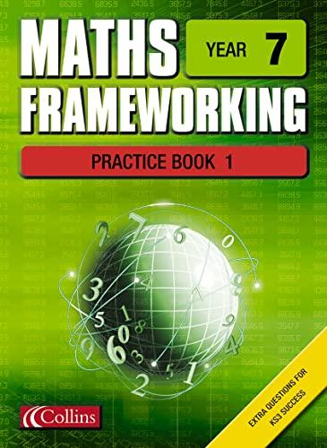 9780007138685: Maths Frameworking - Year 7 Practice Book 1